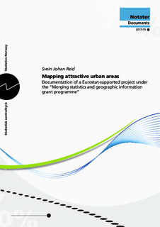 Mapping attractive urban areas  Documentation of a Eurostat